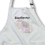 click on Stonewash Sunflower Art Inspired by Nature Flowers to enlarge!
