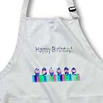 click on Row of Cupcakes, Blue, Happy Birthday to enlarge!