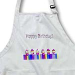 click on Row of Cupcakes, Purple, Happy Birthday to enlarge!
