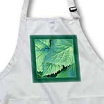 click on Teal green metallic leaves with forest green frame to enlarge!