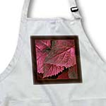 click on Rich red metallic leaves with dark chocolate frame to enlarge!