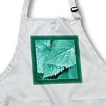 click on Turquoise metallic leaves with deep teal green frame to enlarge!
