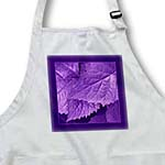 click on Royal purple metallic leaves with deep purple frame to enlarge!