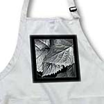 click on Silver and gray metallic leaves with black frame to enlarge!