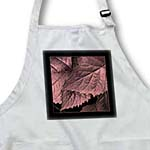 click on Pink and burgundy metallic leaves with black frame to enlarge!