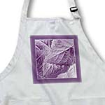 click on Lavender purple metallic leaves with deep lavender frame to enlarge!