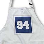click on Number 94 in white trimmed in silver on a blue background outer trim silver and white to enlarge!