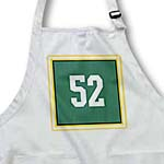 click on Number 52 in white on a forest green background outer trim black, gold, white, gold to enlarge!