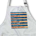 click on Peach and Blue Heavenly Sea Waves Stripes Art to enlarge!