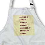 click on Red Days Of Week On Parchment to enlarge!