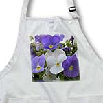 click on Purple and White Pansies- Autumn Flowers- Floral Photography to enlarge!