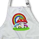 click on Primary Colored Mushroom Rainbow and Fairy to enlarge!