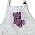 click on Cute Rose Bear On Pink to enlarge!