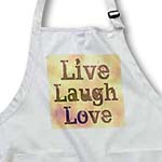 click on Stained Glass Peach Live, Laugh, Love- Inspirational Words- Motivational to enlarge!