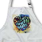 click on Colors of the Universe Giraffe Print Heart- Animals- Art to enlarge!
