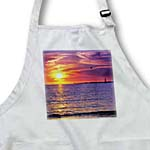 click on Sailboat With Red and Purple Florida Sunset to enlarge!