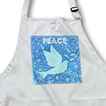 click on Blue Snowflakes with Peace Dove- Inspirational Art- Christmas to enlarge!