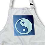 click on Ocean Blue Yin Yang- Inspirational Art- Peace- Spirituality- Balance to enlarge!