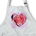click on Pink Love Rose Valentines Heart- Romantic Photogaphy- Flowers to enlarge!