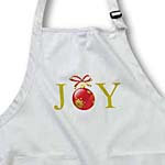 click on Gold Joy Red Ornament with Bow- Holiday Inspirations to enlarge!