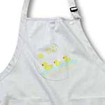 click on 3 Duckie Bib Says Meal Time to enlarge!
