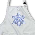 click on Christmas Blue Snowflake- Holiday Art to enlarge!