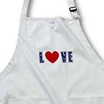 click on Blue Denim Love Heart- Valentines Day- Art to enlarge!