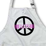 click on Pink Peace Sign- Inspirational Art to enlarge!