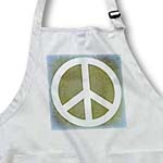 click on Earth Green Sky Blue Peace Sign- Inspirational Art to enlarge!