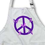 click on Deep Purple Butterflies Peace Sign- Inspirational Art to enlarge!