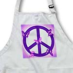 click on Pink and Purple Peace Sign and Butterflies- Inspirational Art to enlarge!