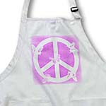 click on Pink Sand Peace Sign Butterflies- Inspirational Art to enlarge!