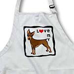 click on I Love My Doberman Pinscher Dog - Red - Red Heart to enlarge!
