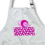click on Cute Pink Snail on Polka Dot Trail to enlarge!