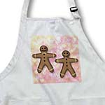 click on Gingerbread Man Cookies Friends Love- Hearts- Art to enlarge!