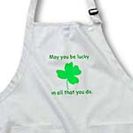 click on May you be lucky in all that you do Green Shamrock to enlarge!