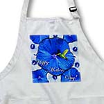 click on Hummingbird Blue and White Hibiscus Mothers Day to enlarge!