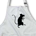click on Cute Walking Mouse In Silhouette to enlarge!