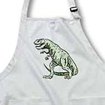 click on Green T Rex Dinosaur to enlarge!