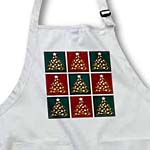 click on Cute Christmas Trees Box Pattern Green and Red to enlarge!
