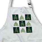 click on Cute Christmas Trees Pattern Green and White to enlarge!