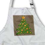 click on Cute Christmas Tree on brown background to enlarge!