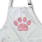 click on Salmon Pink Chihuahua Paw- Pets- Dog Art to enlarge!