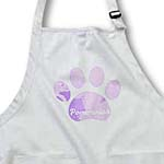 click on Mystic Pink Pomeranian Paw- Pets- Dog Art to enlarge!