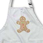 click on Pastels Gingerbread Man Cookie- Art to enlarge!