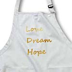 click on Gold Glitter Love, Dream, Hope- Inspirational Words- Motivational to enlarge!
