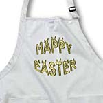 click on Easter Greeting Rabbit Faces in Gold to enlarge!