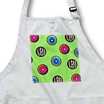 click on Cute Donut Print on Green to enlarge!