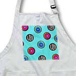 click on Cute Donut Print on Light Blue to enlarge!
