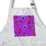 click on Cute Donut Print on Purple to enlarge!